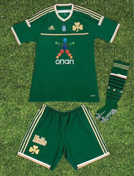 Panathinaikos 2014-15 Home Shirt