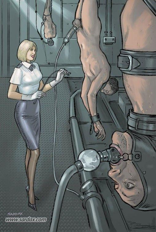 femdom graphic art