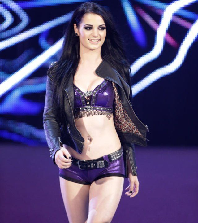 Hot wwe paige Pictures Of