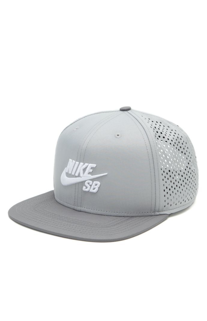 PacSun presents the Nike SB Performance Trucker Hat. This unique cap comes  with a raised Nike SB logo sewn on front of a solid color base… 7e2690059900
