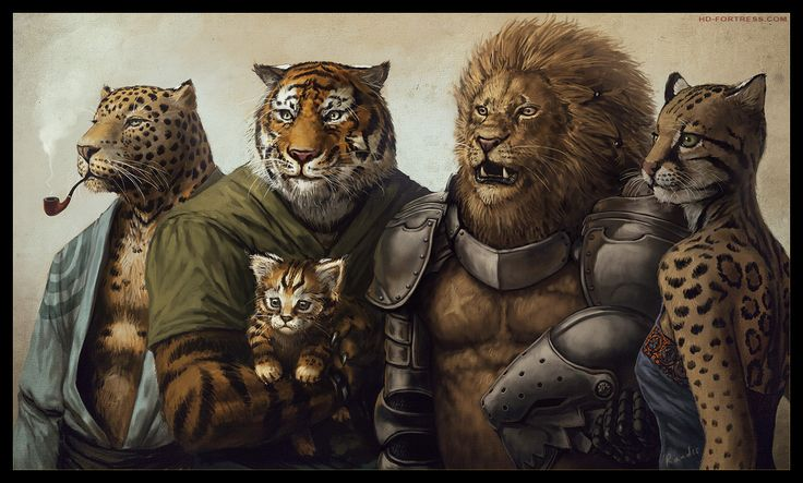 pictures of fantasy wolves and cats | lion would never cheat on his wife but a Tiger Wood