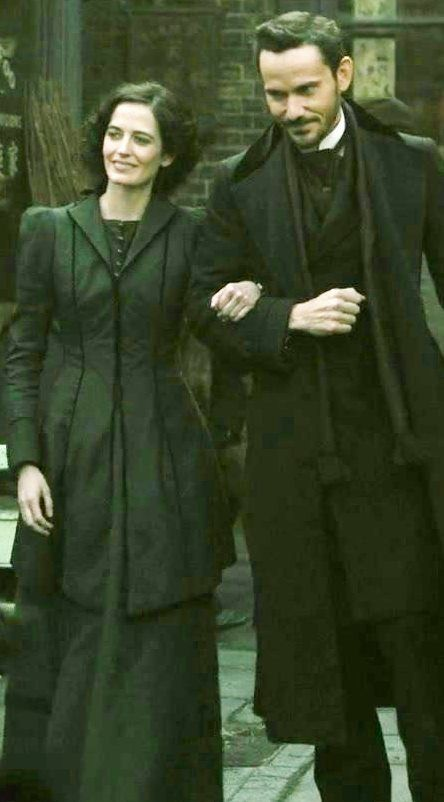 """Eva Green with Christian Camargo 