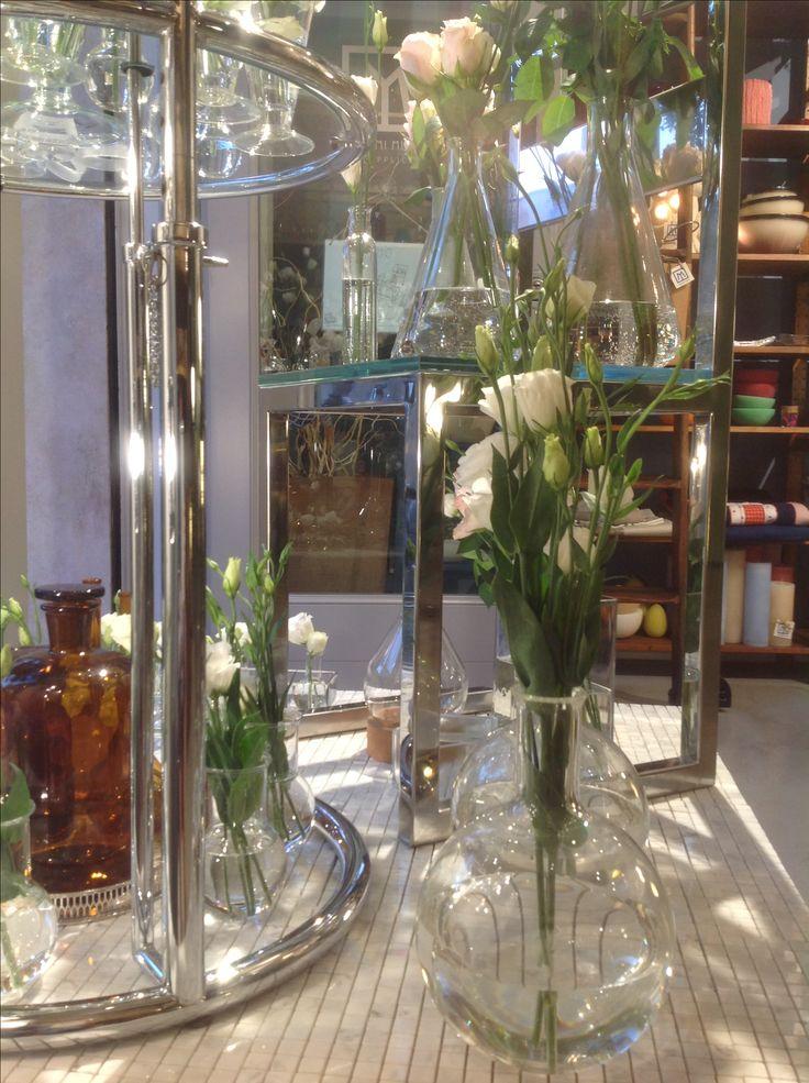 Flower show window Massimi Minimi