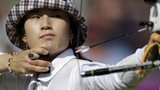 South Korea's Ki Bo Bae takes women's individual archery gold in a dramatic sudden death shoot-out with Mexico's Aida Roman.
