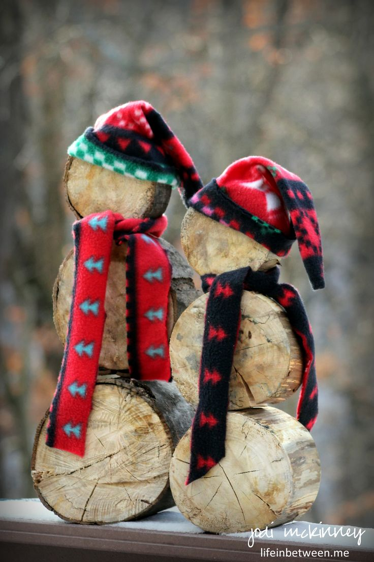 I love making and giving handmade DIY Christmas and holiday gifts, so when I saw a similar snowman project created from logs, I fell in love with the idea and convinced hubby we should make these. ...