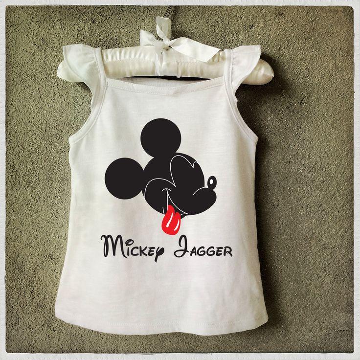 Kids T-shirt Camiseta infantil Mickey Jagger Graphic Tee