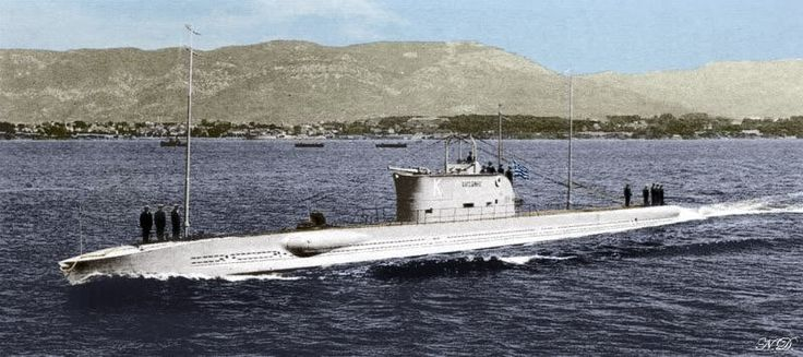 FOUND! The WW2 Greek submarine Y1 \
