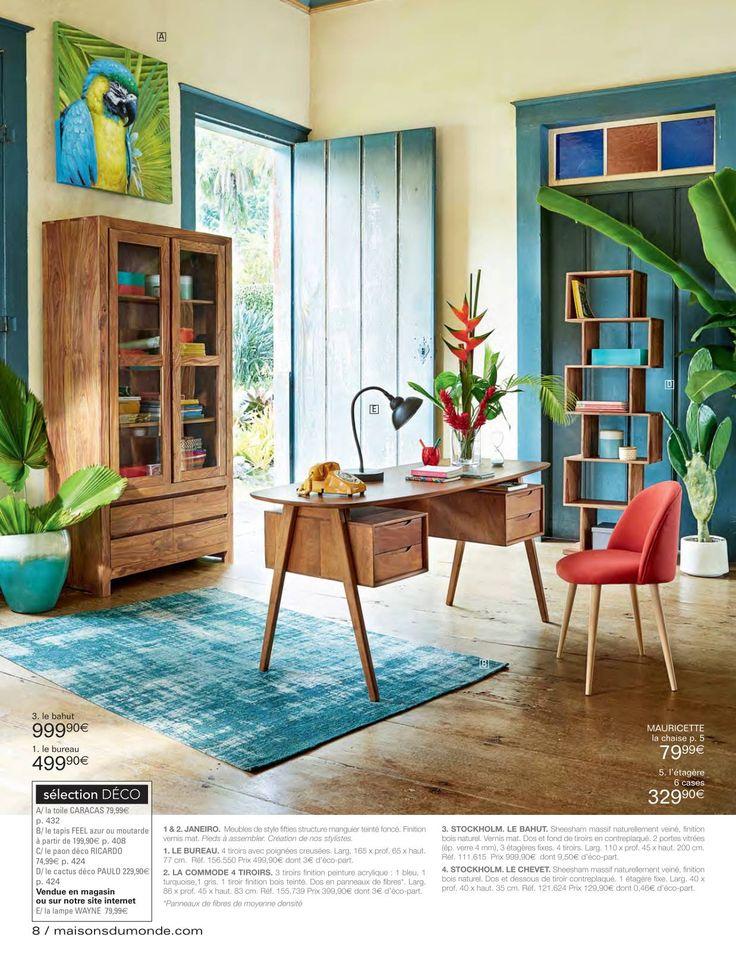 7 best Maison du monde images on Pinterest | Bedrooms, Parfait and ...