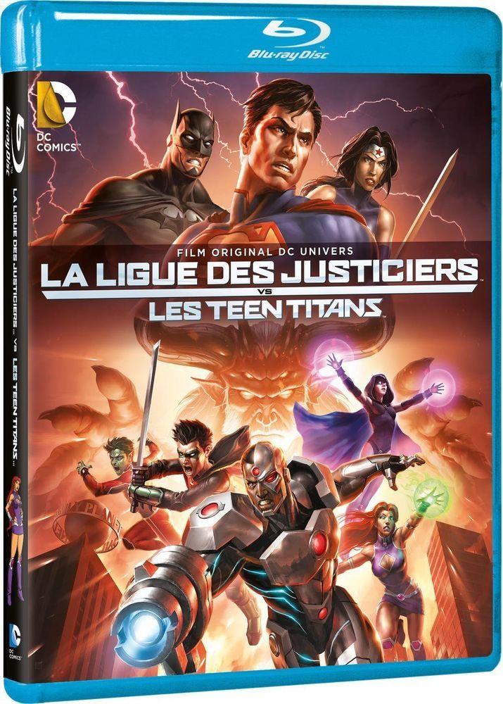 La Ligue des justiciers vs les Teen Titans (2016) - BLU-RAY NEUF