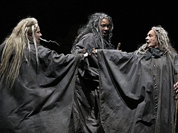the journey of macbeth to meet the three witches in the play macbeth Essay on the three witches in macbeth 984 words | 4 pages the three witches in the tragedy macbeth are introduced right at the beginning of the play.