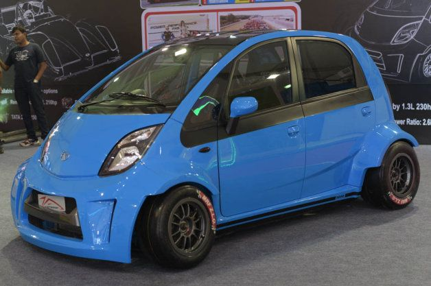 This is Insanity - A tuner in India is offering a 230-horsepower version of the Tata Nano.