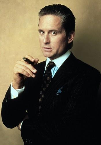 Gordon Gekko (from Wall Street, 1987) Portrayed by Michael Douglas