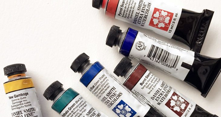 How To Use Watercolor Tubes Watercolor Different Types Of
