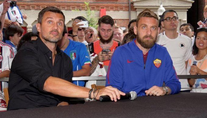 Two of my favorites- the legendary Paolo Maldini and Daniele De Rossi ❤️❤️😍😍