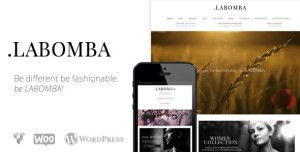 LABOMBA is a WooComerce based template that different from the rest. its complete, its easy to use and easy to customize. - See more at: www.WPtized.com