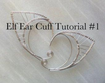 Elf Ear Cuff Tutorial 1 di Belethil su Etsy