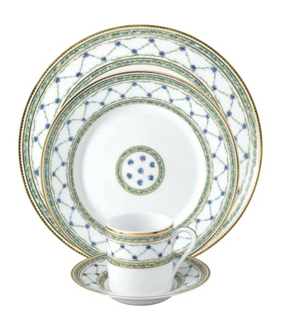 #Raynaud - Limoges #porcelain - Allée du Roy collection