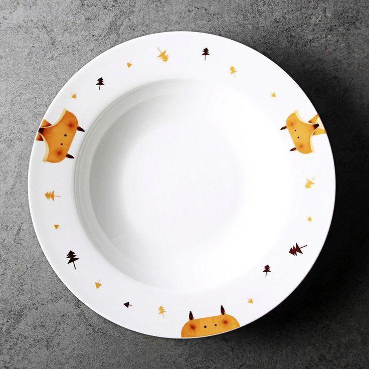Lotus Blue Character Deep Plates #Plates