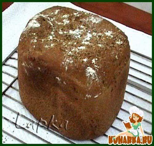 Крестьянский хлеб для хлебопечки