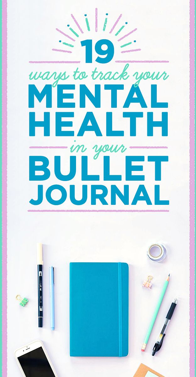 19 bullet journal layouts for tracking your mental health planner pinterest anxiety. Black Bedroom Furniture Sets. Home Design Ideas