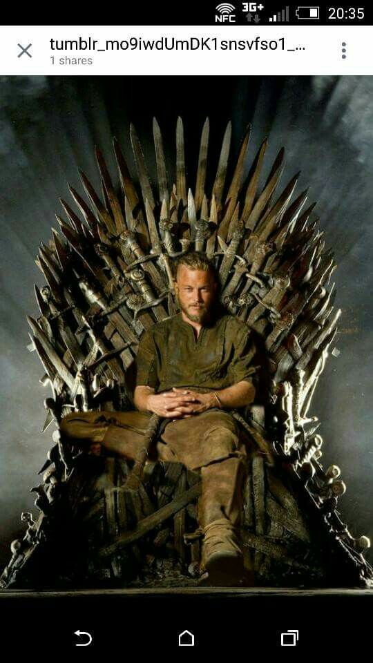 Ragnar will go anywhere! Need between Viking fans and Game of Throne fans.