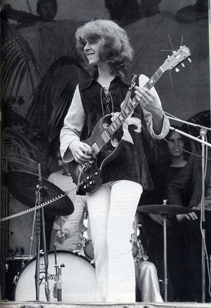 Mick Taylor At Hyde Park 1969 Stones Live Pinterest