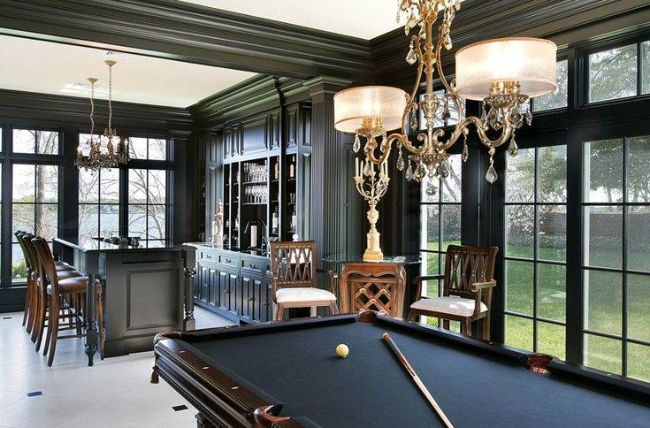 That pool table though...