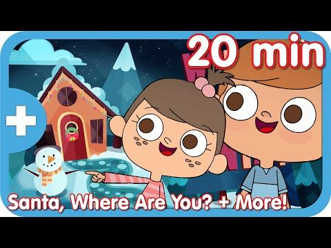"""▶ """"Santa, Where Are You?"""" - Christmas Songs for Kids [pinned by PartyTalent.com]"""