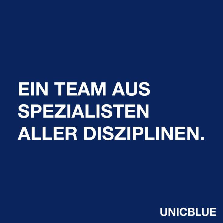Ein Team aus Spezialisten aller Disziplinen.