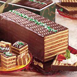 dobos tota recepies | Daring Bakers Challenge : Dobosh Torte