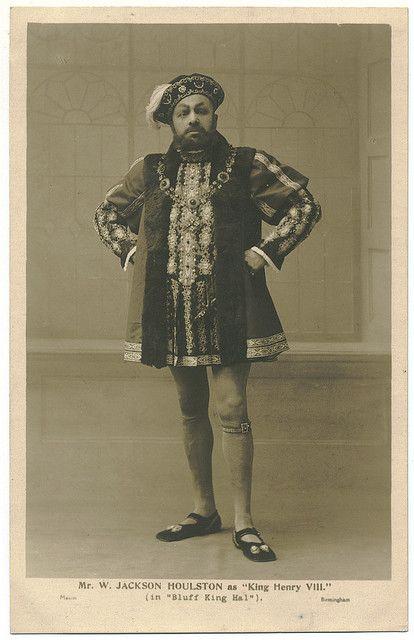 HOULSTON, Jackson_Mason (Birmingham). As King Henry VIII in Bluff King Hal