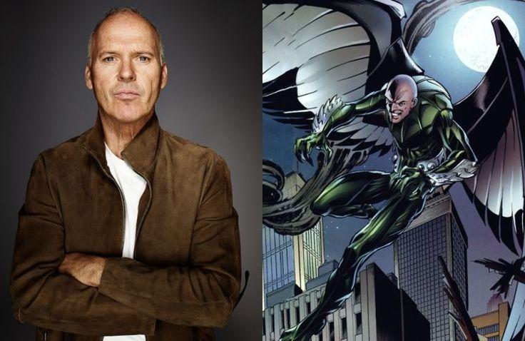 """Depuis Avril dernier, il y avait des rumeurs que Michael Keaton pourrait jouer le méchant du film """"Spider-Man: Homecoming"""". Et cela se confirme..."""