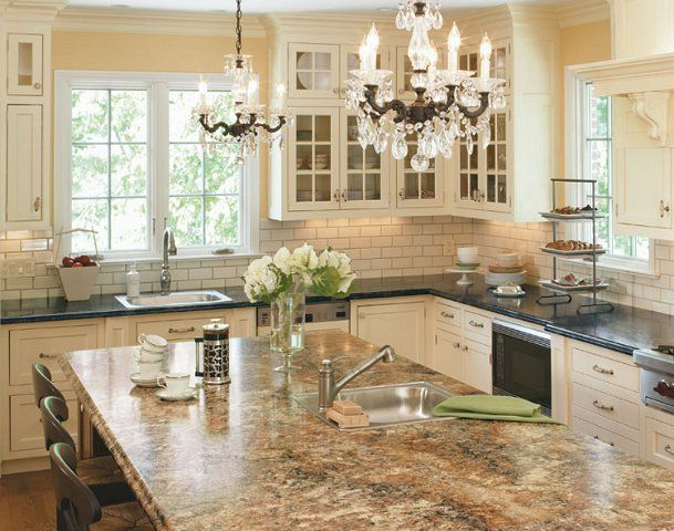 Image result for white cabinets with Antique Mascarello ...