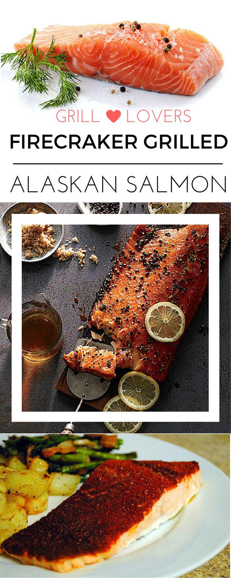PrintGrill Lovers' Firecracker Grilled Alaskan Salmon Recipe ...