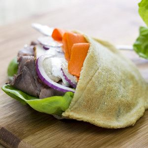 {Paleo, AIP and Top-8 Allergen Free} Pita Pockets! - He won't know it's paleo.
