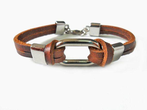Jewelry bangle leather bracelet buckle by braceletbanglecase, $7.00