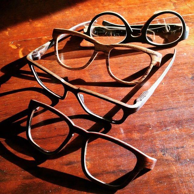 """""""Oculos de madeira do Aram, um mais lindo que o outro #handmade #design #glasses"""""""
