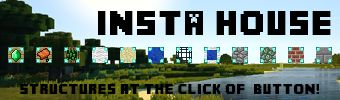 Download Insta House Mod 1.13/1.12.2/1.11.2 - Instant Structures Mod...