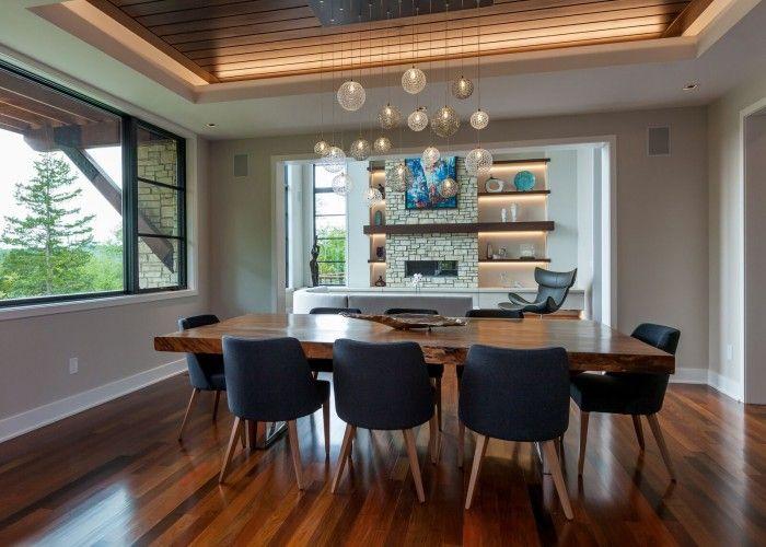 mod mid century modern dining room shakuff multi pendant dining room chandelier - Dining Room Lighting Trends
