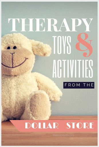 Dollar Store Toys for School Psychology Therapy  A blog dedicated specifically…