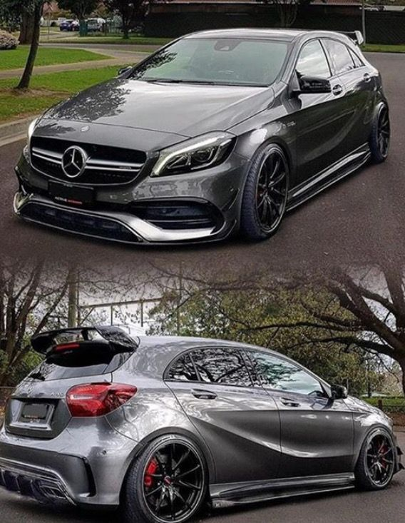 World's fastest hatchback: 2017 Mercedes Benz AMG A45 Facelift 382 HP, 2.0L ,4matic, 4 cylinder, 1-100km/hr in 4.2 seconds