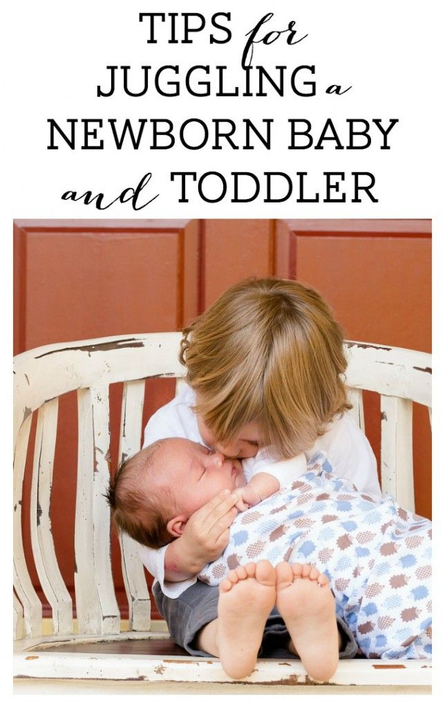Tips for Juggling a Newborn Baby and Toddler - Breastfeeding Needs