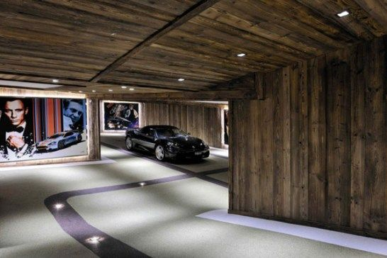 A look at ways to store your (real or fantasy) luxury cars in a glamorous fashion, with these stylish home garage design ideas...