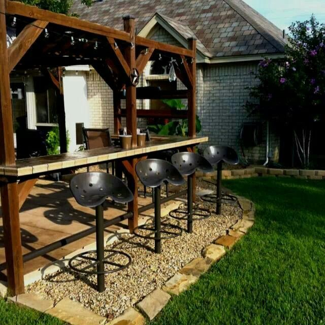 1000 Ideas About Simple Outdoor Kitchen On Pinterest: 1000+ Ideas About Outside Bars On Pinterest