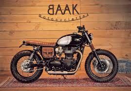 triumph bonneville t120 tracker by baak motorcycles