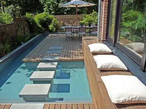 Die besten 25+ Splash swimming pool Ideen auf Pinterest Pool - pool garten aufblasbar