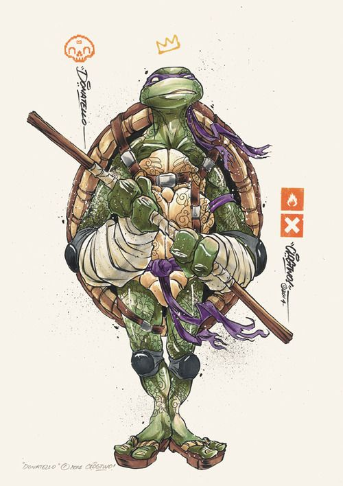 Teenage Mutant Ninja Turtles by Donatello - Clog Two