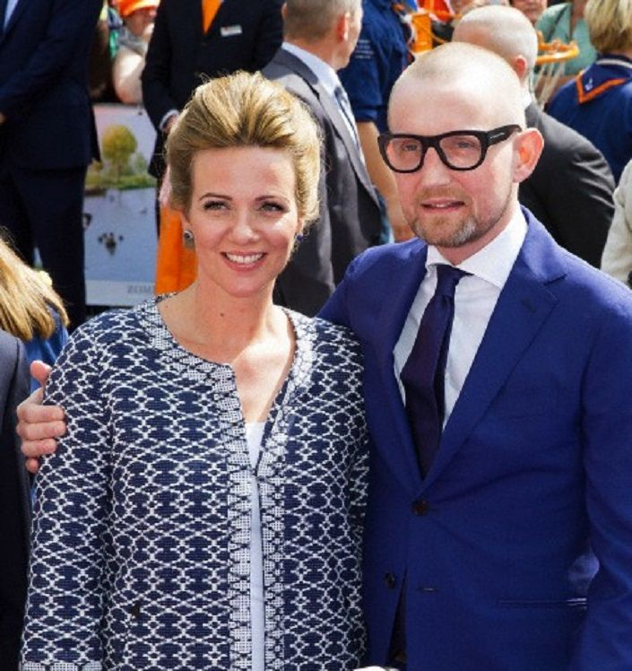 Dutch Prince Bernard and his wife Princess Annette attend the 2014 King's Day celebrations in De Rijp, 26 April 2014.