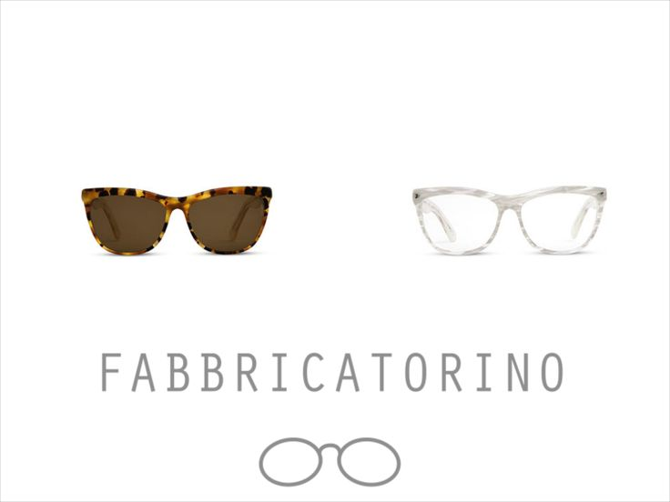 Fabbricatorino  Acetate Glasses - 100% Made In Italy #italianstyle