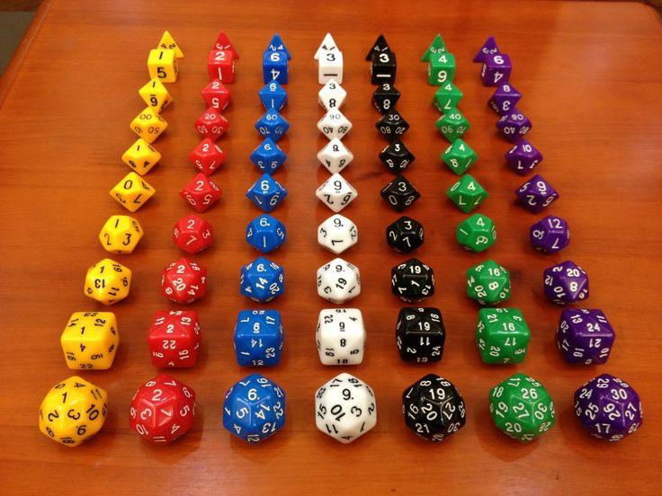 Dungeons and Dragons dice 10 grain of a set(D4,D6,D8,D10,D12,D20,D24,D30) ,d&d , Millionaire dice Toys,Christmas present